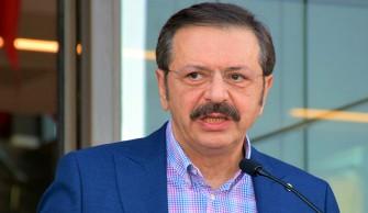 TOBB Başkanı Hisarcıklıoğlu: Bu teker bu tümsekte kalmaz