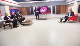Başkan Sözlü TVA canlı yayınında konuştu