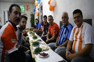 Adana'da Derbi Öncesi Dostluk Yemeği