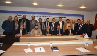 TÜMSİAD Adana Şubesi Halk Bankası Bölge Koordinatörünü Ağırladı