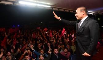 Cumhur İttifakı Adayları Belediye Evleri'ni Ziyaret Etti