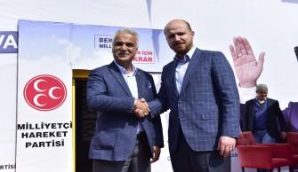 Bilal Erdoğan'dan Yusuf Baş'a ziyaret
