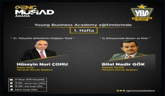 "Genç Müsiad ""Young Business"" Eğitim Semineri Başladı"