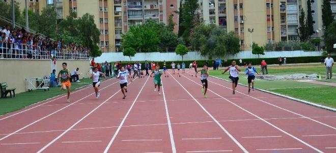 Okullar Arası Atletizm Küçükler Grup Müsabakaları Adana'da Yapıldı