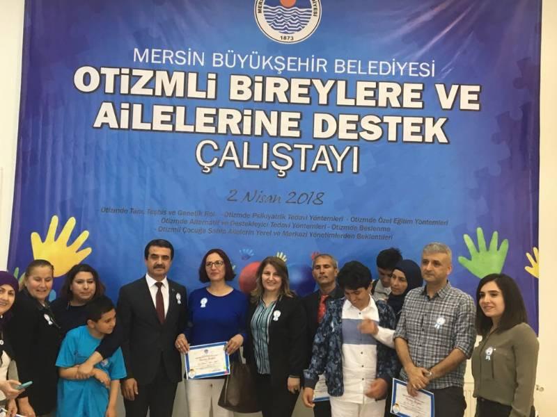 Otizmli Bireylere ve Ailelerine Destek Çalıştayı Mersin'de Düzenlendi