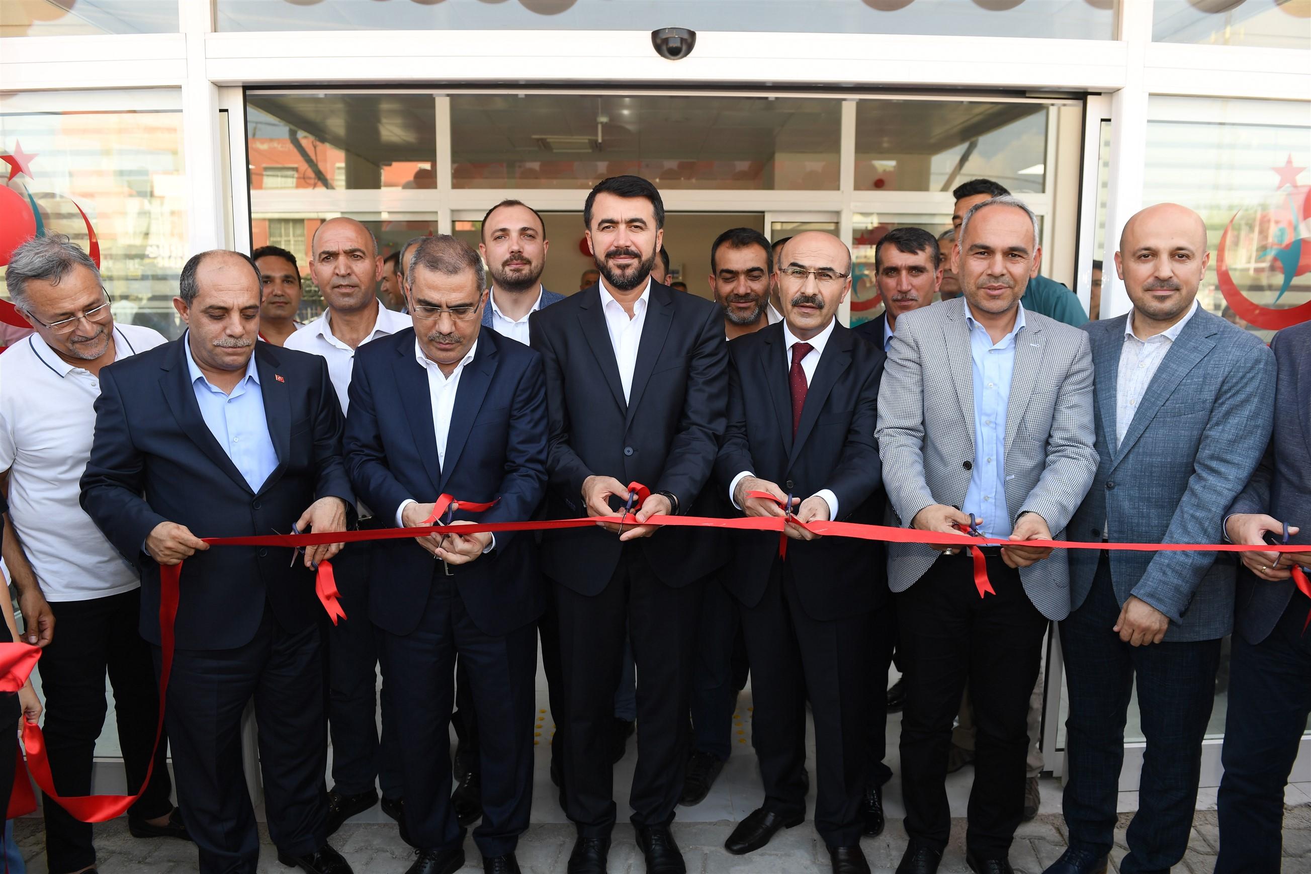 Doğankent Aile Sağlığı Merkezi ve Semt Polikliniği Açıldı