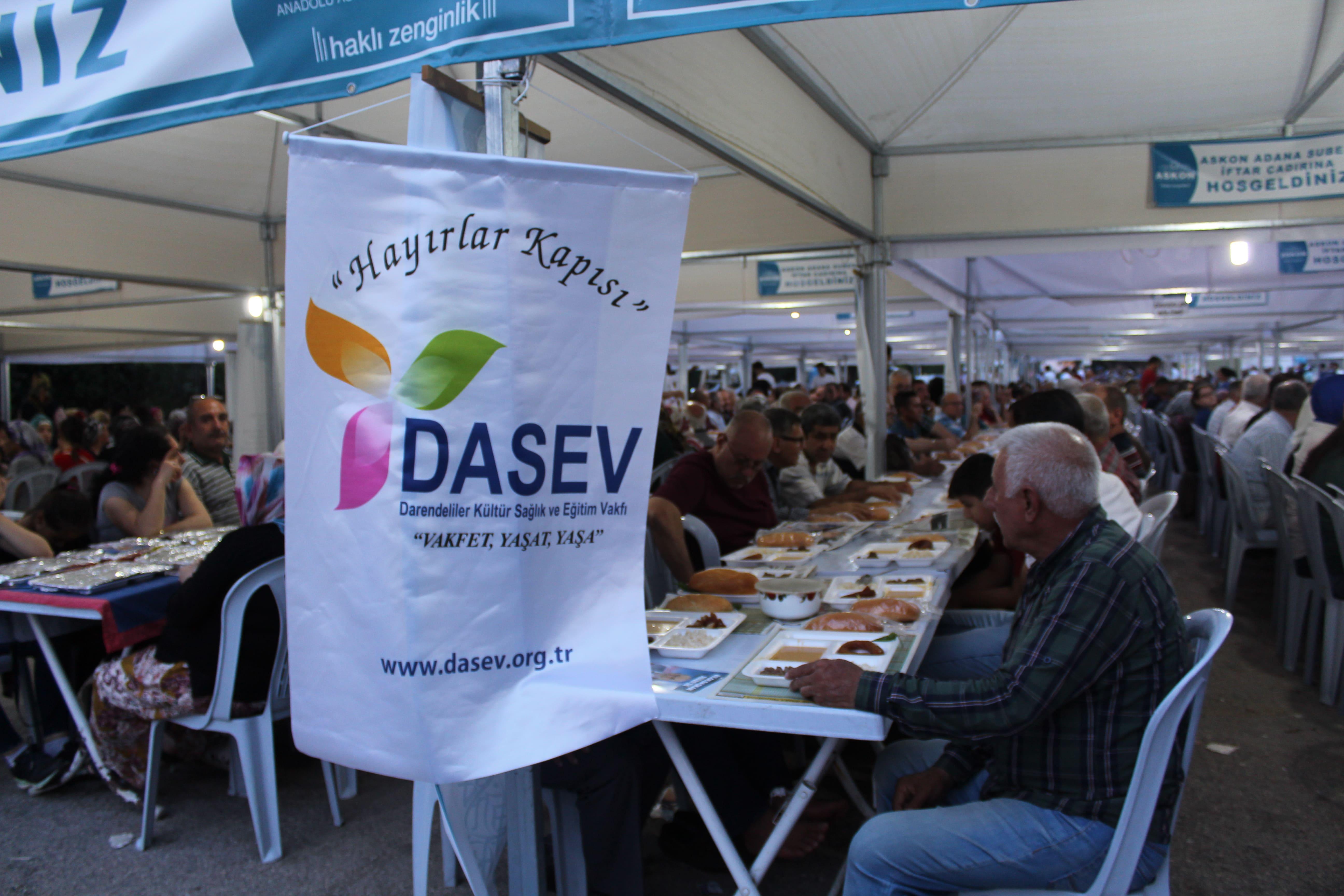 DASEV'den Bin Kişilik İftar Yemeği