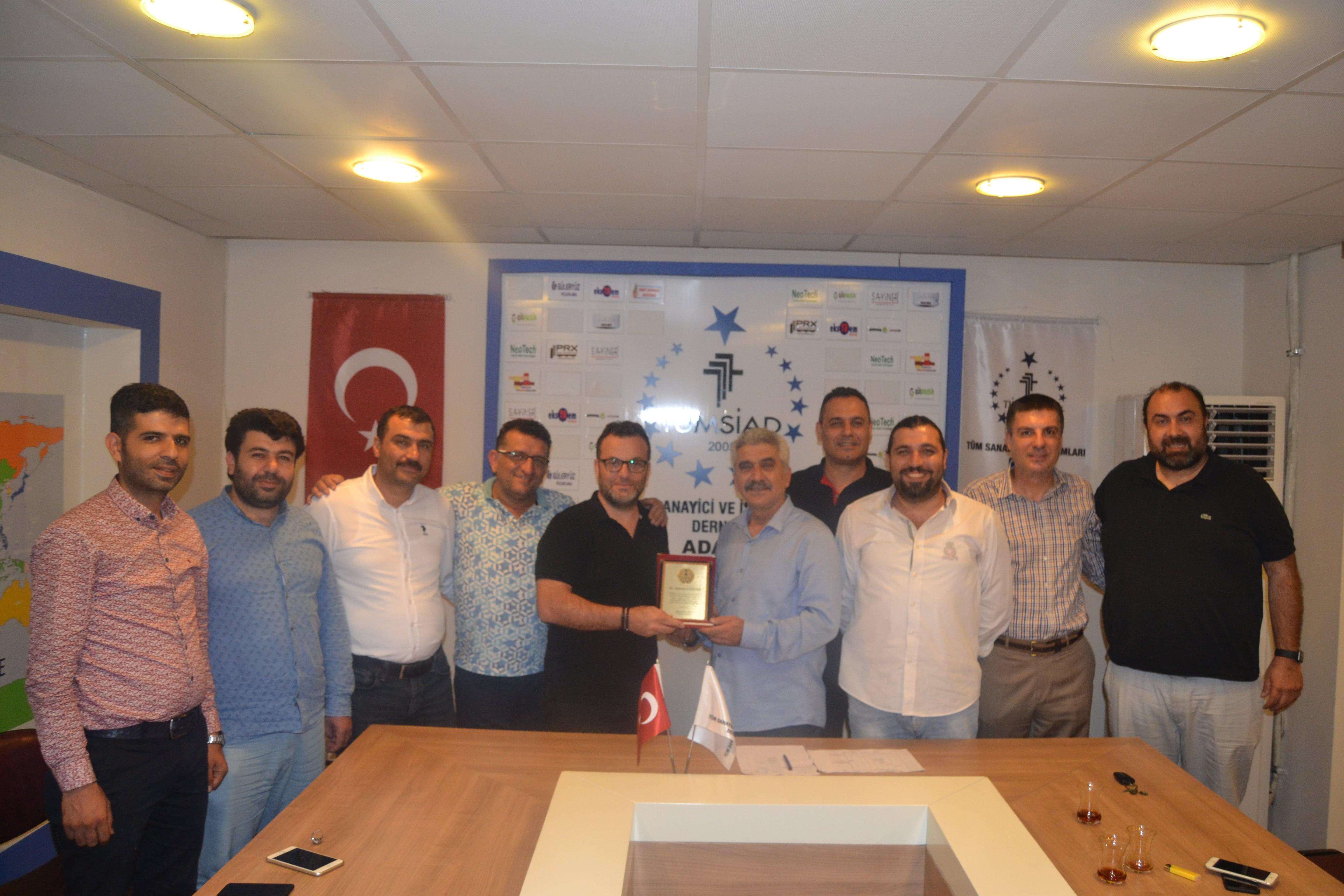 TÜMSİAD Adana Şube Başkanı Kutluca ''Ekonomik Savaştan Mutlaka Galip Çıkmalıyız''