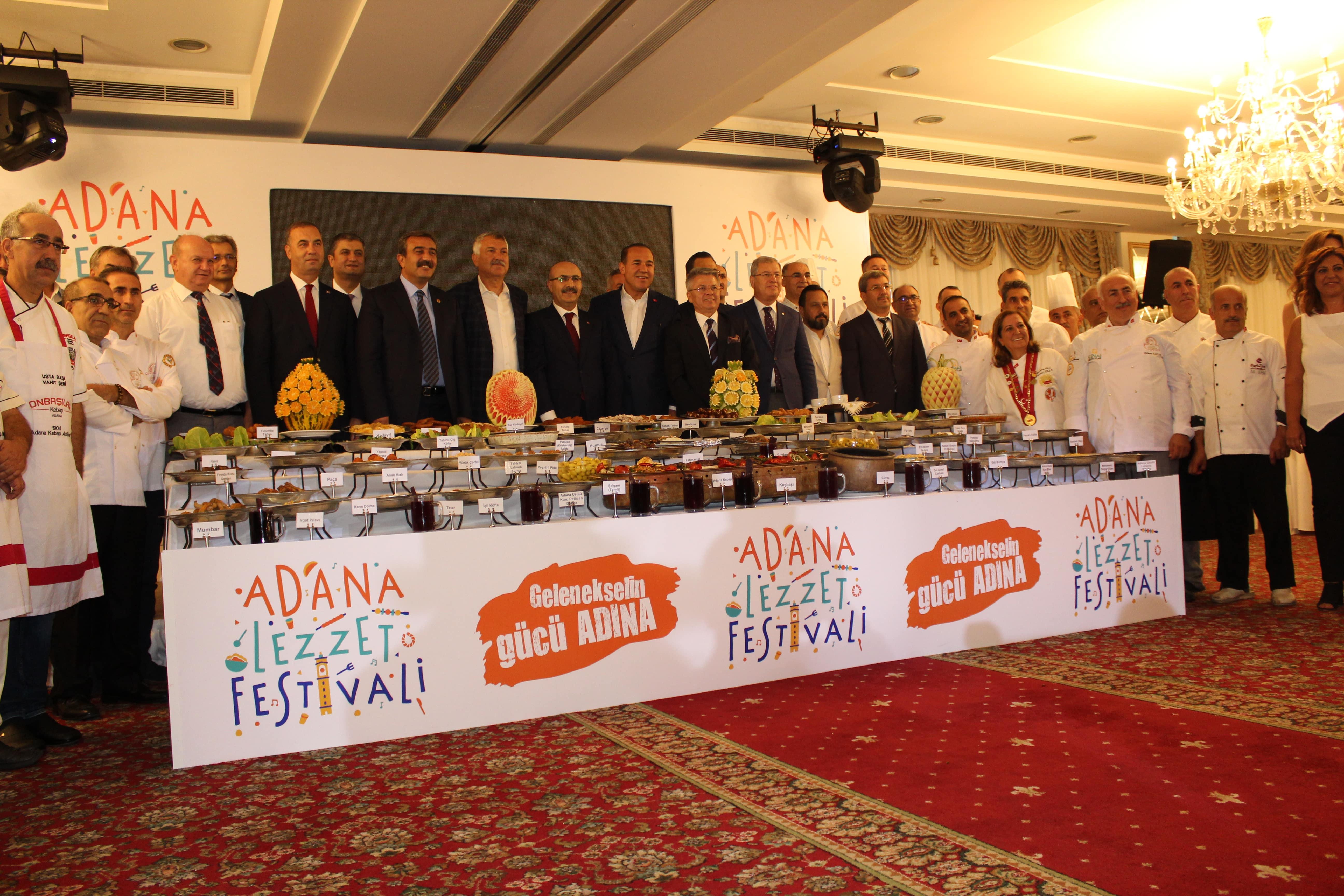 2. Adana Lezzet Festivali 12-14 Ekim'de Merkez Park'ta