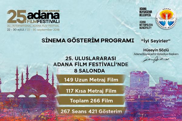 25. Uluslararası Adana Film Festivali Başlıyor