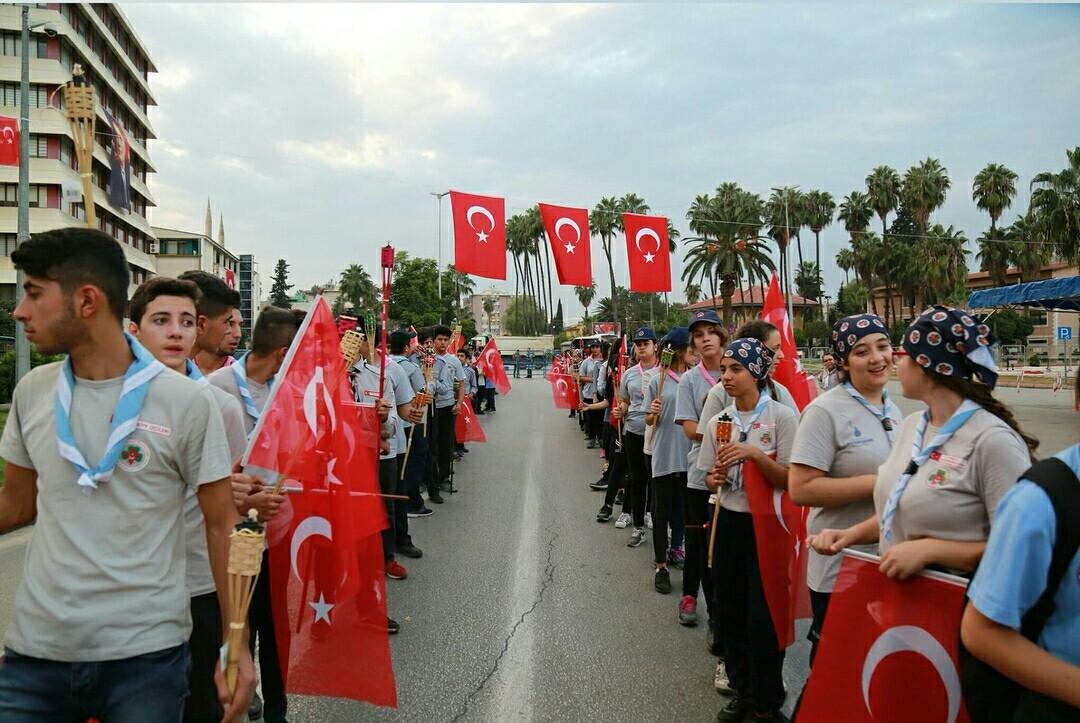 ADANA'da29 EkimCumhuriyet Bayramı, coşkuyla kutlandı.