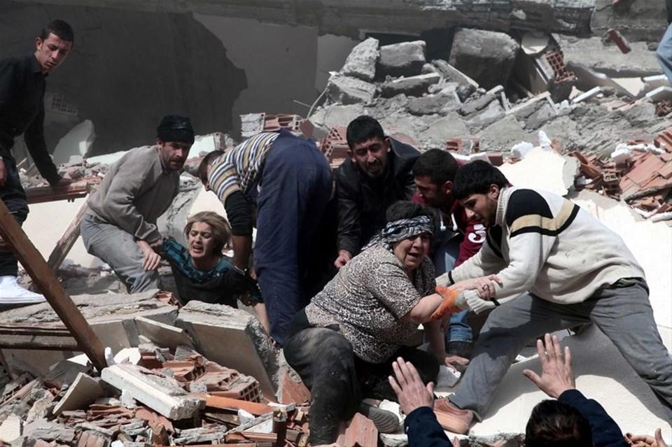 Van depreminin yıldönümü