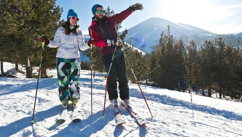 Kayak merkezlerinde sezon açılmadan yüzde 70 doluluk