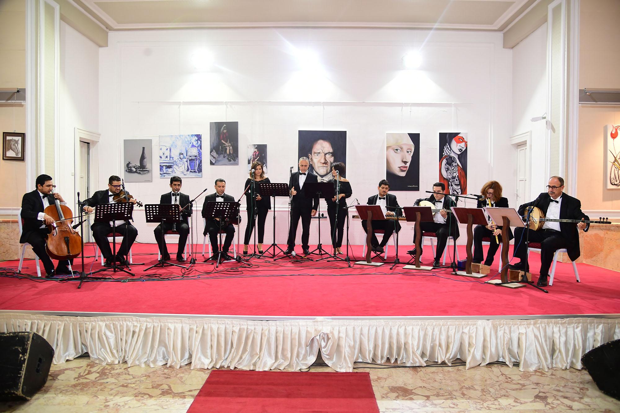 """10 Kasım'da """"Anılarla Atatürk'ün Sevdiği Türküler"""" konseri"""