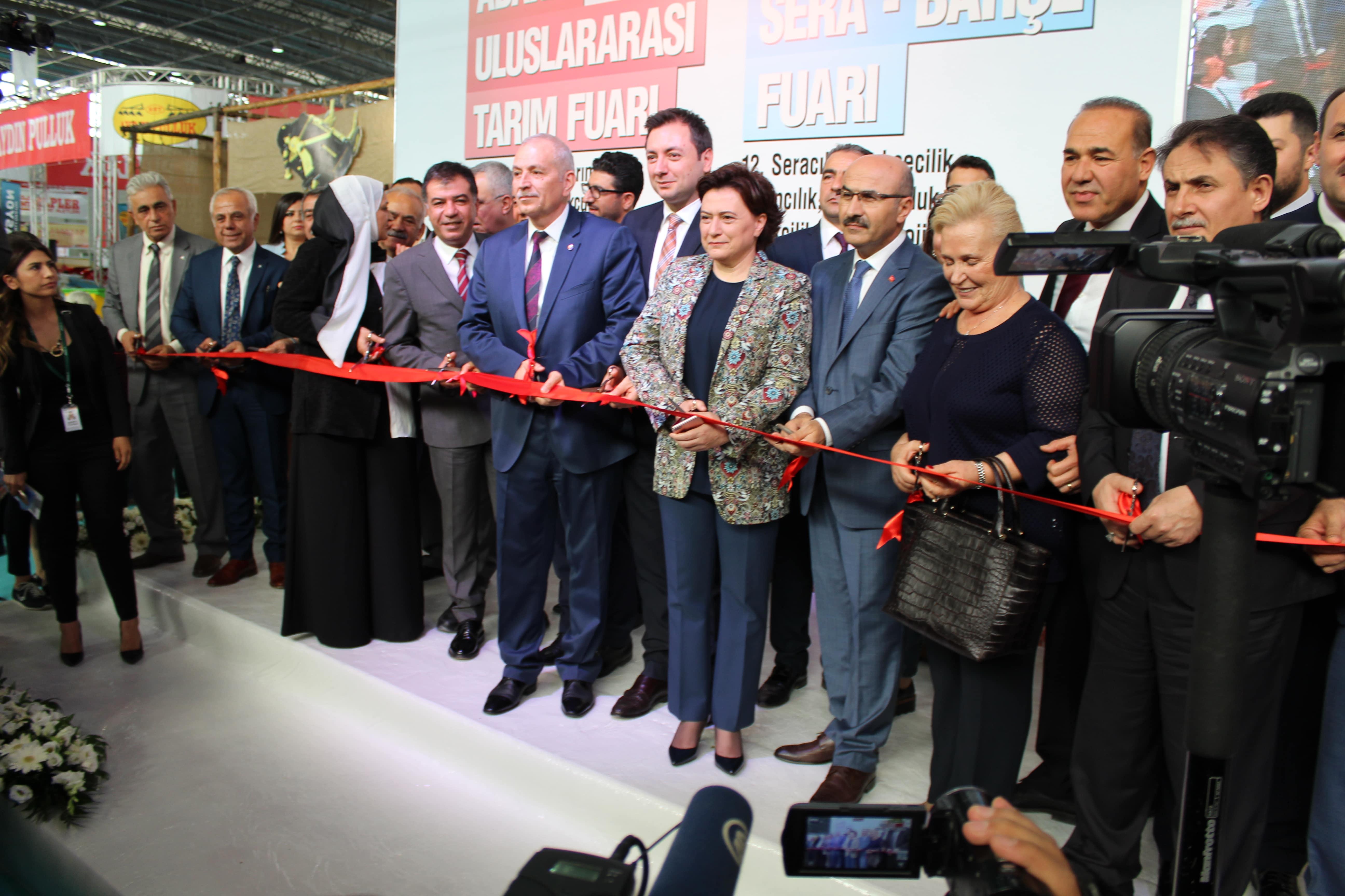 12. TÜYAP Adana Tarım Fuarı Açıldı