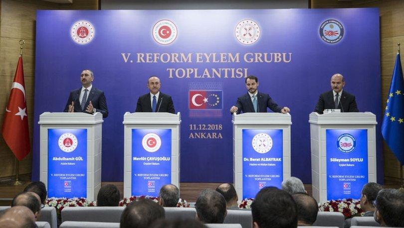 5. Reform Eylem Grubu Toplantısı tamamlandı