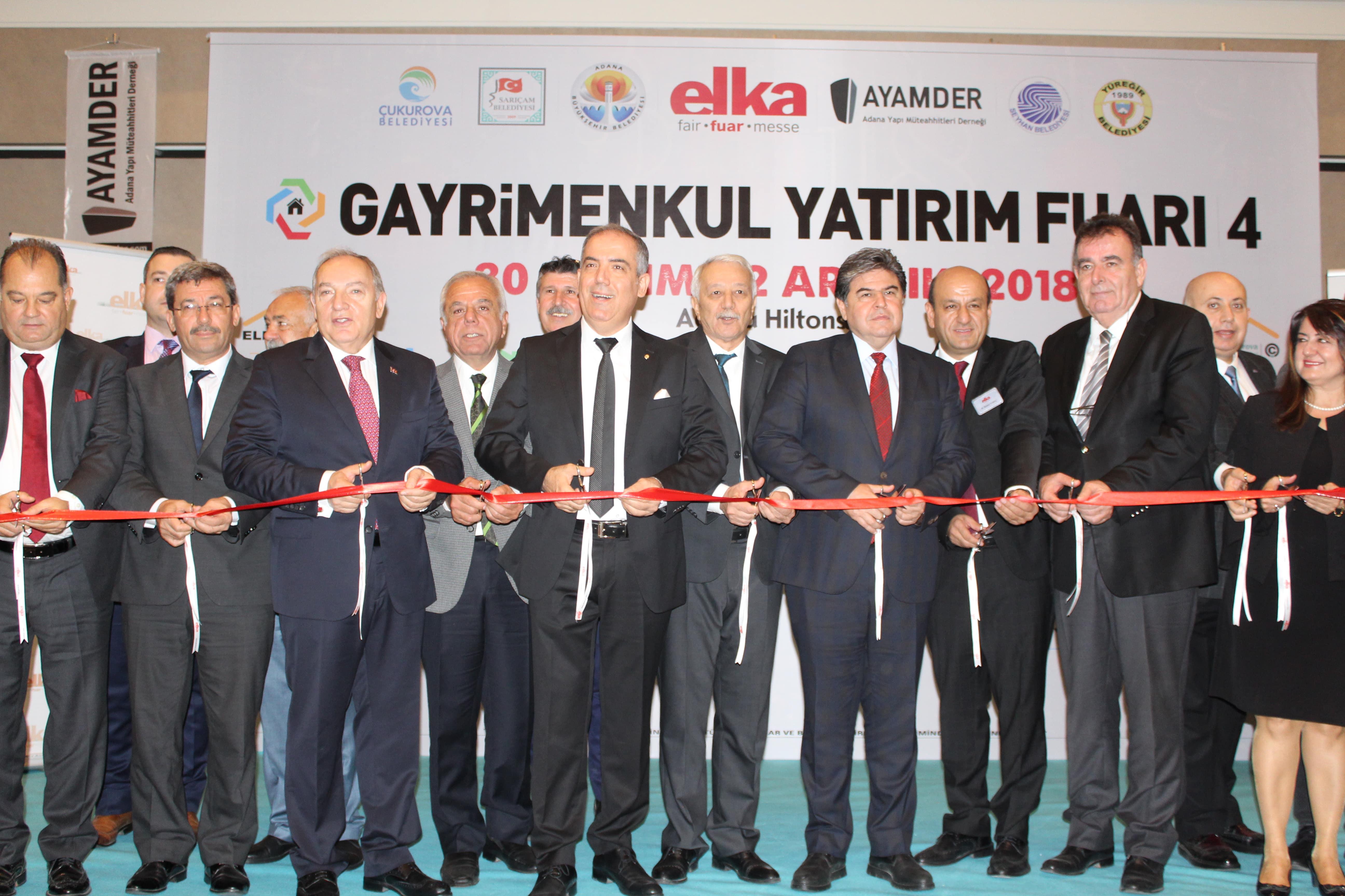 Gayrimenkul Yatırım Fuarı 4. kez Adana'da
