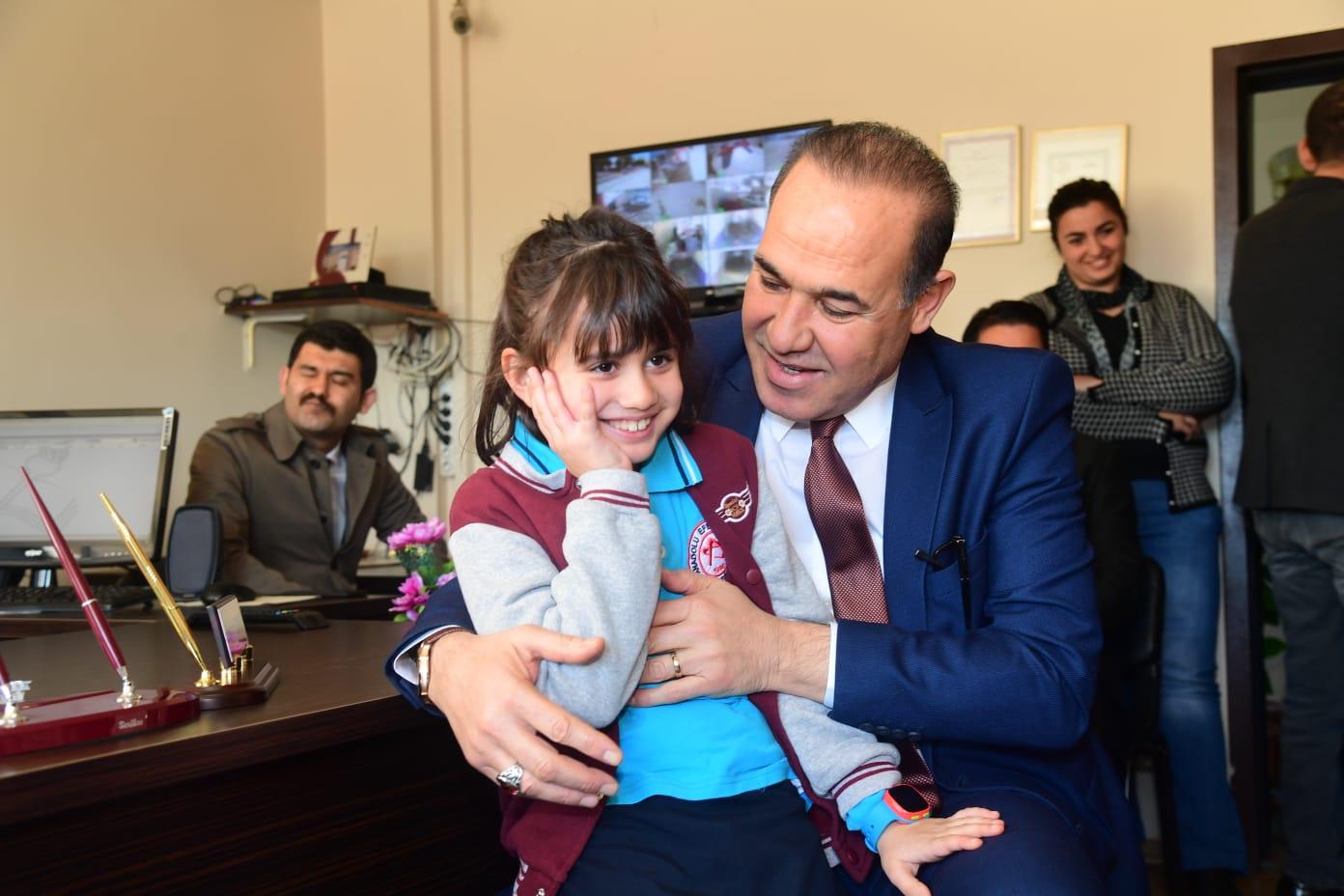Okul Başkanı istedi Başkan Sözlü yaptı