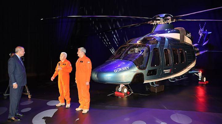 Erdoğan açıkladı!İlk yerli helikopterimiz
