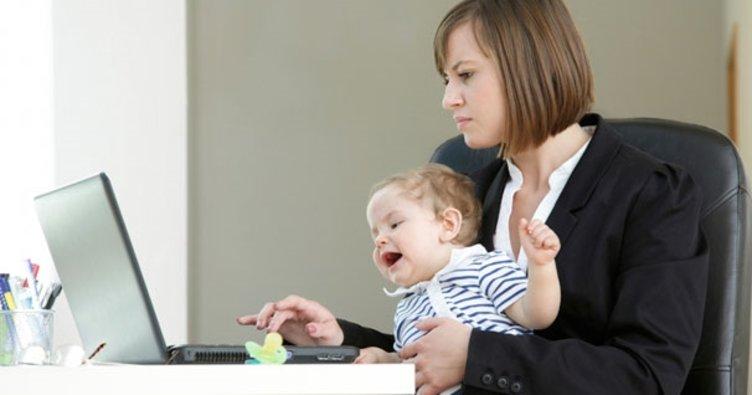 Çalışan anneye 5 destek