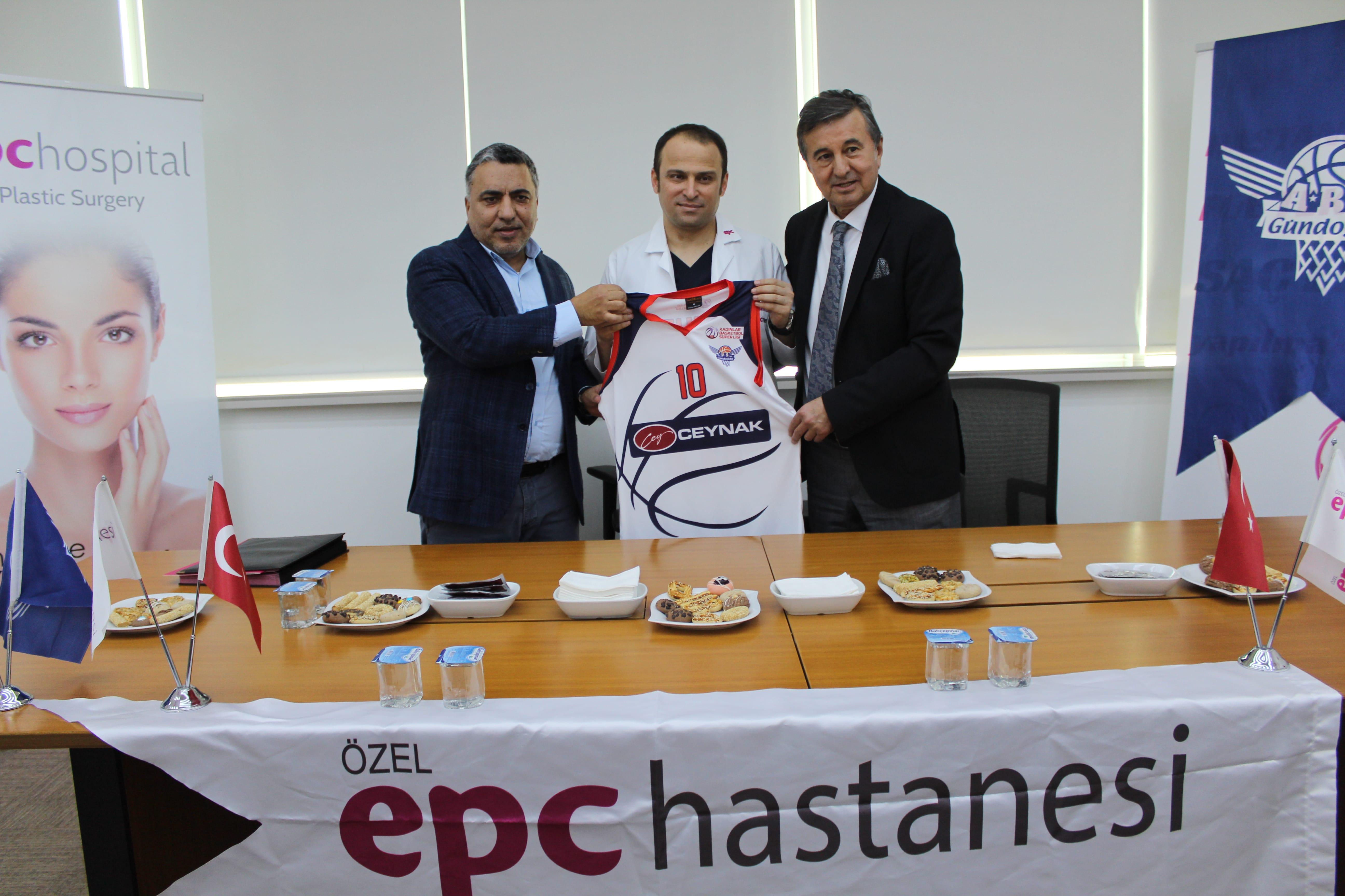 Gündoğdu Kadın Basketbol Kulübü ile EPC Hastanesi işbirliği