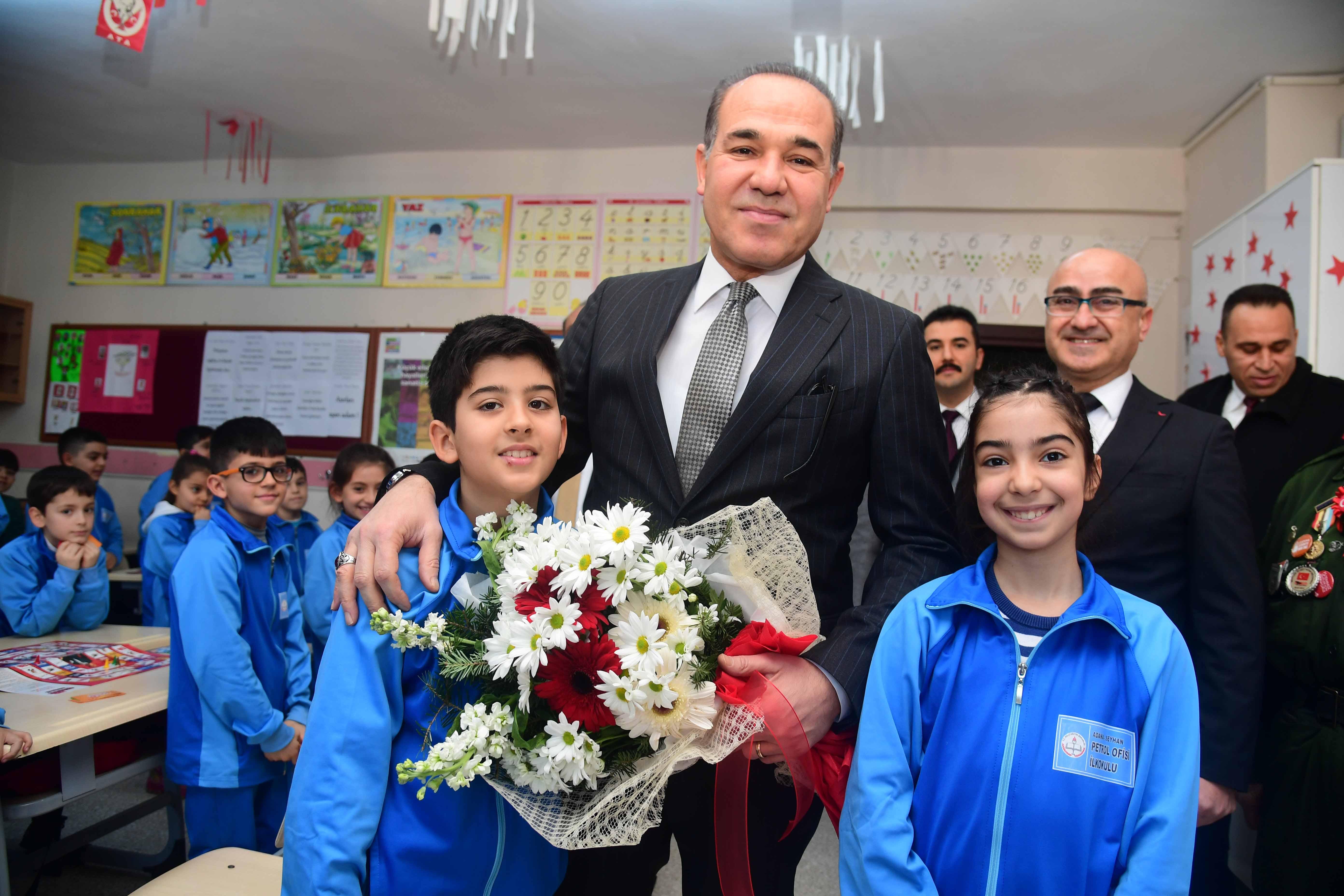 Başkan Sözlü sordu öğrenciler cevapladı