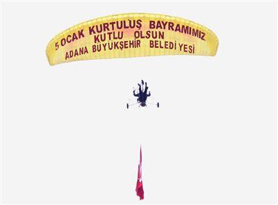 Adana'da 5 Ocak Kutlaması