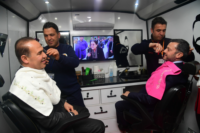Büyükşehir'den 'Mobil Kişisel Bakım Aracı' Hizmeti