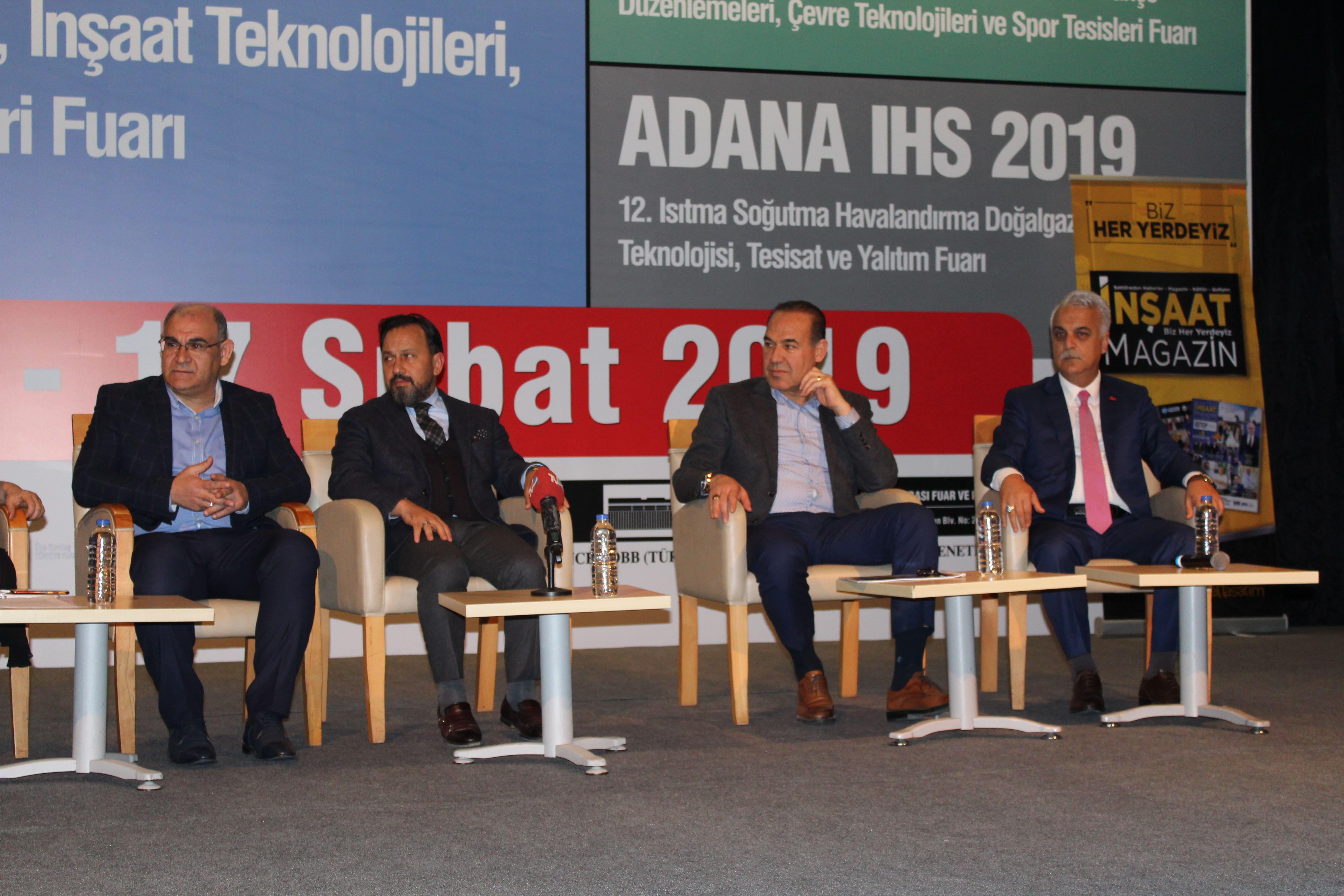 2. Marka Şehir Adana Paneli'ne Cumhur İttifakı Adana Adayları Katıldı
