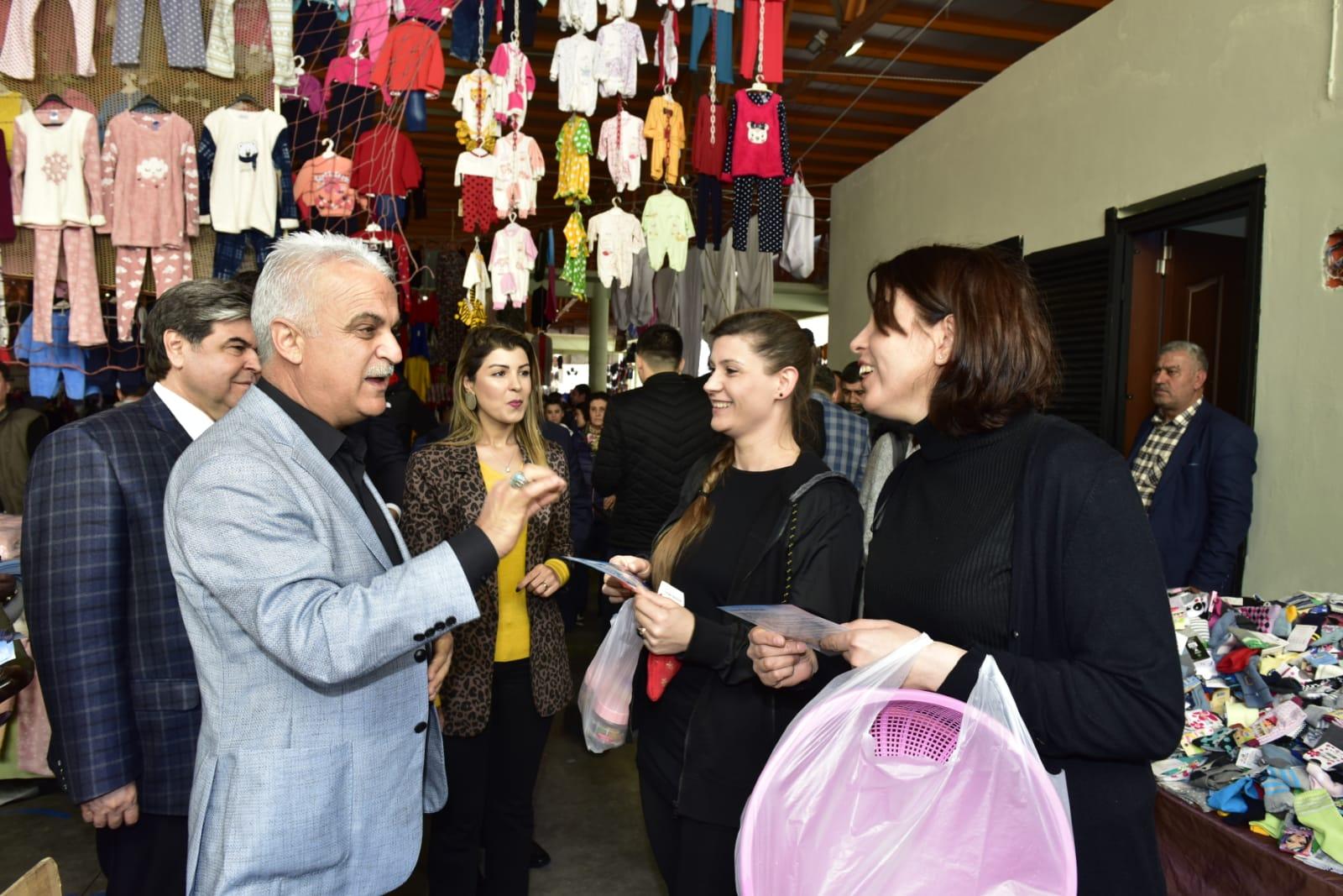 Çukurova Belediye Başkan Adayı Yusuf Baş: Biz bu sorunu çözeriz!