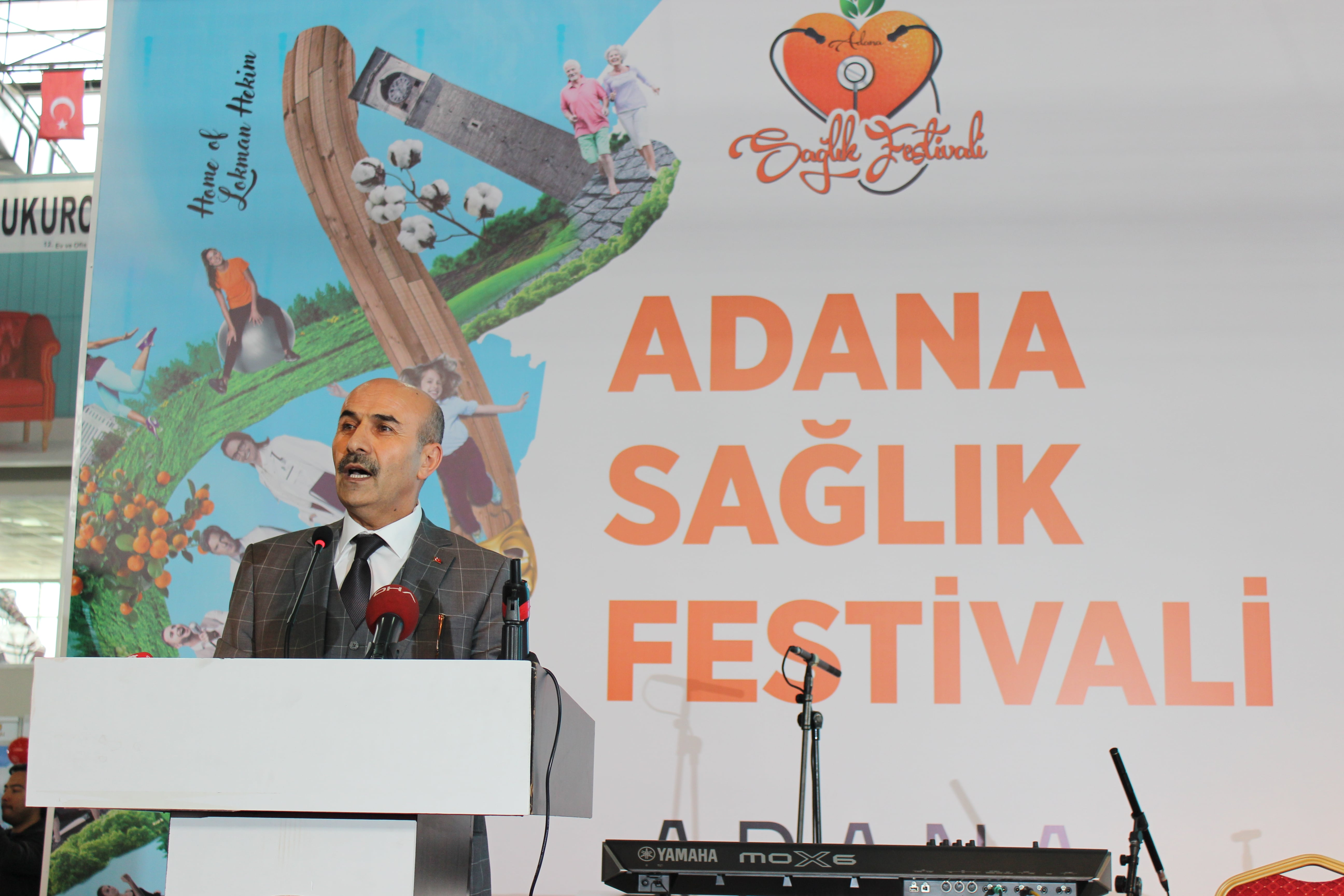 Adana Sağlık Festivali renkli başladı