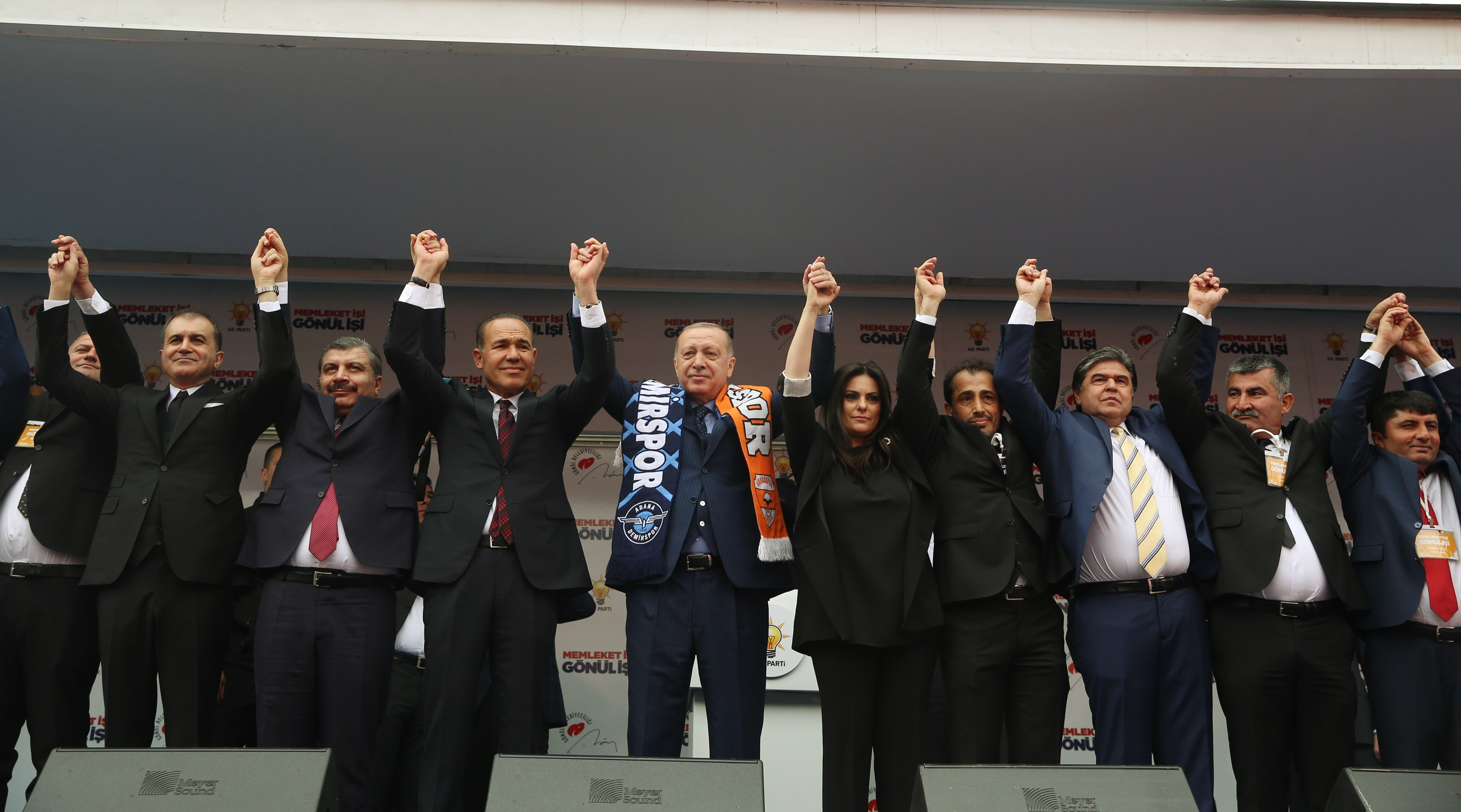 Cumhur Başkanı Erdoğan Adana'da konuştu