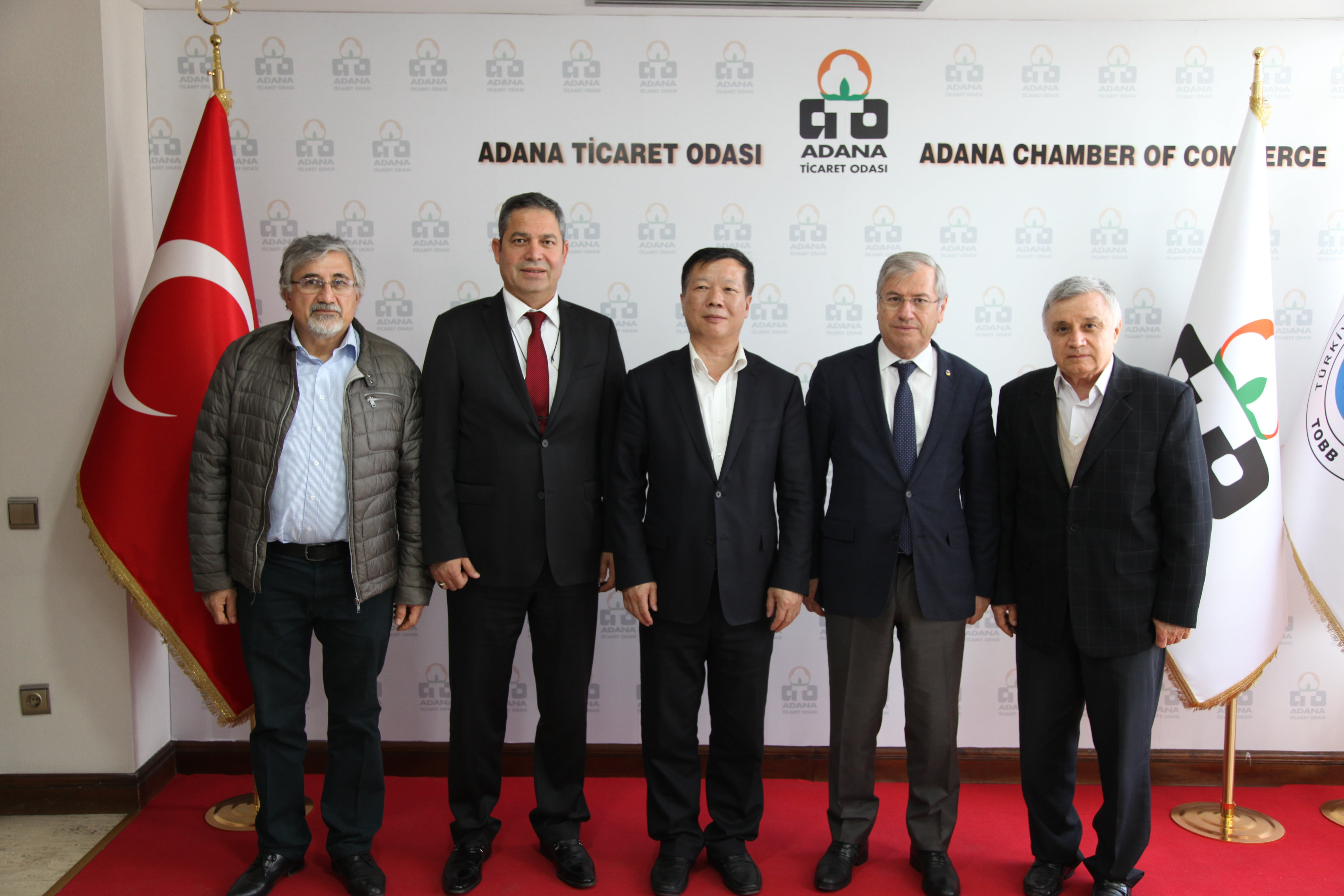 Çin ile Adana Arasında Ticaret Köprüsü Kuruldu