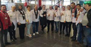 Adanalı Aşçılar 2 Kupa 12 Madalya Kazandı